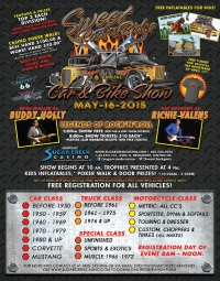 6th Annual Sweet Rods & Rides Car & Bike Show