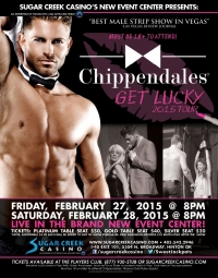 Chippendales Male Revue 2015