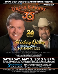 Mickey Gilley with special guest Johnny Lee