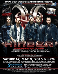 Hinder with special guest: 2am