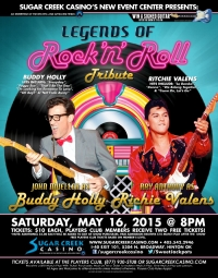 Legends of Rock: Buddy Holly and Richie Valens Tribute