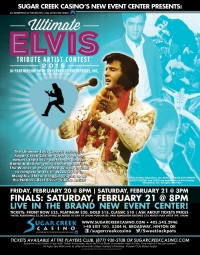Ultimate Elvis Tribute Artist Contest 2015