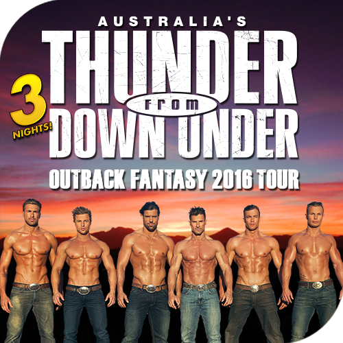 Sugar Creek Casino Presents Australia's Thunder From Down Under