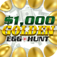 $1,000 Golden Egg Hunt