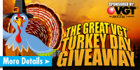 The Great VGT® Turkey Day Giveaway