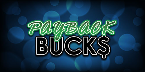 Event flyer for Sundays: Payback Bucks